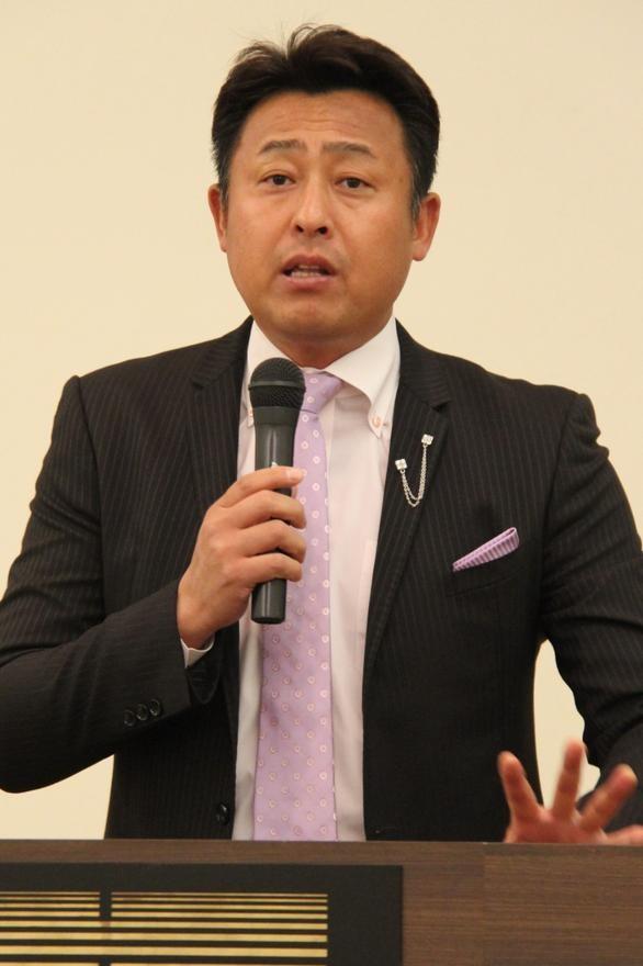 プロ野球解説の岩本勉氏講演 NTTユーザ協会