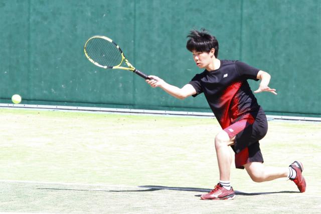 高体連春季テニス(3)
