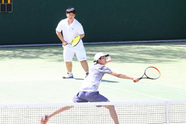 高体連春季テニス(4)