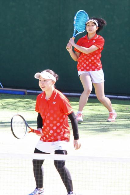 高体連春季テニス(10)