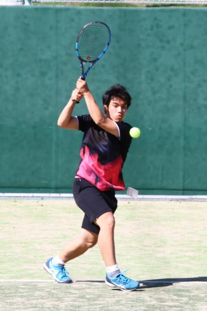 高体連春季テニス(1)
