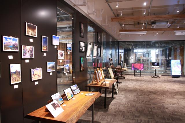Gスクエアで25日まで開催中の函館アートコレクション
