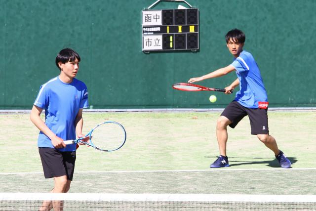 高体連春季テニス(2)