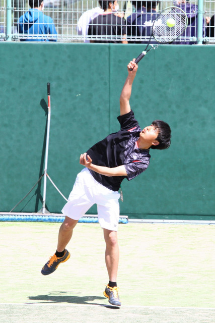 高体連春季テニス(7)