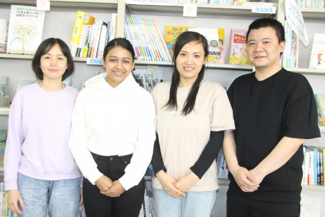 介護福祉士を目指す4月に入学した外国人留学生