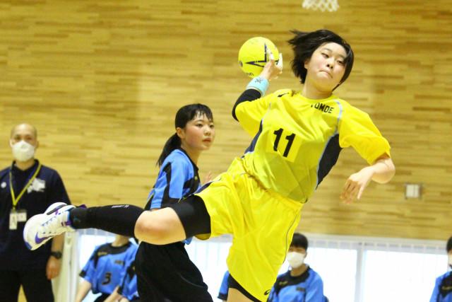 函館市中体連ハンドボール(8)女子巴