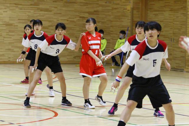 函館市中体連ハンドボール(7)女子戸倉
