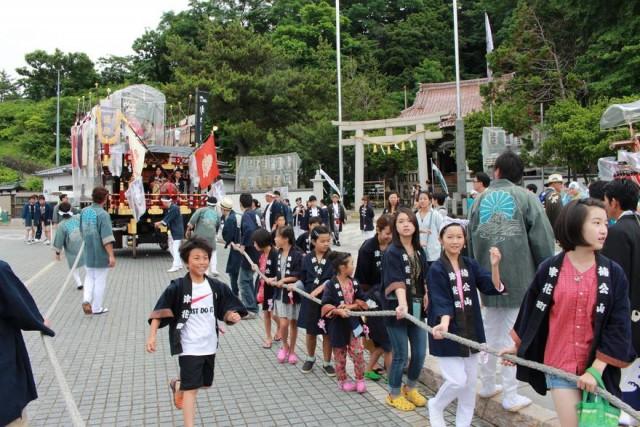 道内最古の祭り・江差姥神大神宮...