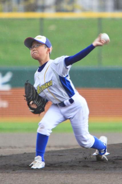 【決勝、北浜―日吉ジャイアンツ】打たせて取るピッチングで3塁を踏ませず完封勝利した北浜の森広